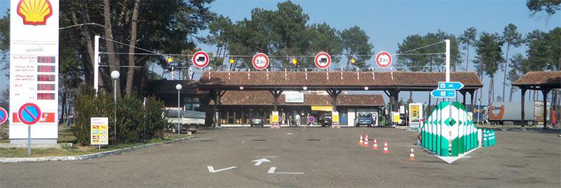 Signalisation de gabarit - route autoroute signaltech