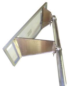 kit solaire signalisation routiere