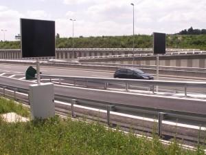 panneaux caissons fantome autoroute