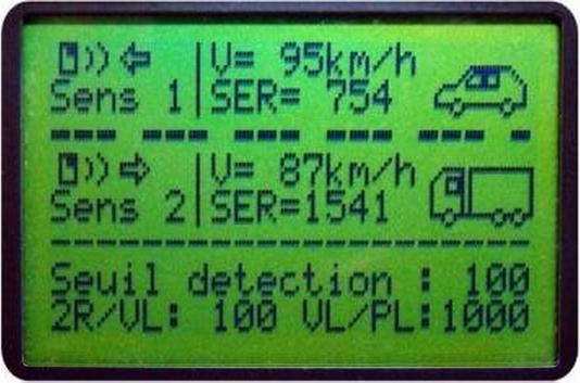 prestation de comptage routier