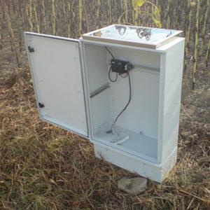 coffret solaire signalisation route - signaltech